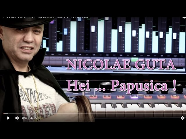 Nicolae Guta - Hei Papusica  Manele Noi 2016