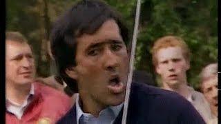 Seve Ballesteros Dunhill British Masters Woburn 1986 Final round highlights