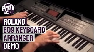 Roland E09 Keyboard Arranger Demo