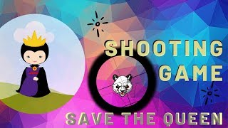 Shooting Game In Python | Save the Queen