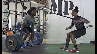 Explosive Leg Workout for Football | Overtime Athletes