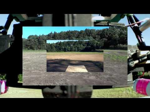 空飛ぶカメラ「2号機のジンバルの動き」0901