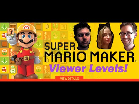 Mario Maker Viewer Levels: Bird is the Word! -EP77- The Game Couch