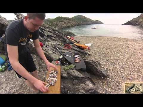 Chasse sous marine en Espagne team Very Deep Trip Vol.3