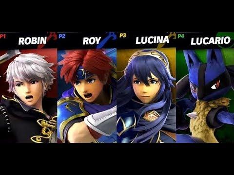 Lucario/Robin/Roy/Lucina