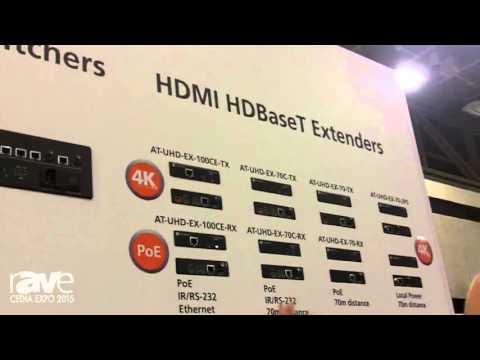 CEDIA 2015: Atlona Introduces Whole Home Matrix Switchers, Extenders