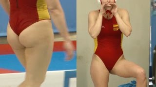 female waterpolo player rep. Spain #8