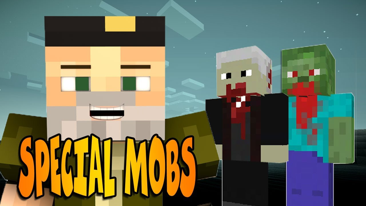 Special T Si >> MIL MOBS!! | Special Mobs Mod Minecraft - YouTube