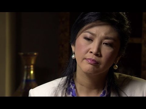 THAI PM YINGLUCK SHINAWATRA INTERVIEW - BBC NEWS