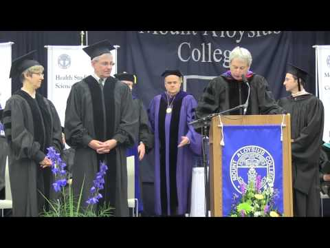 Commencement 2014 Highlights | Mount Aloysius College