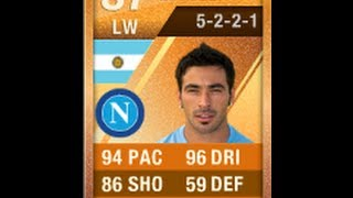 FIFA 12 MOTM Orange Lavezzi Player Review & In Game Stats Ultimate Team