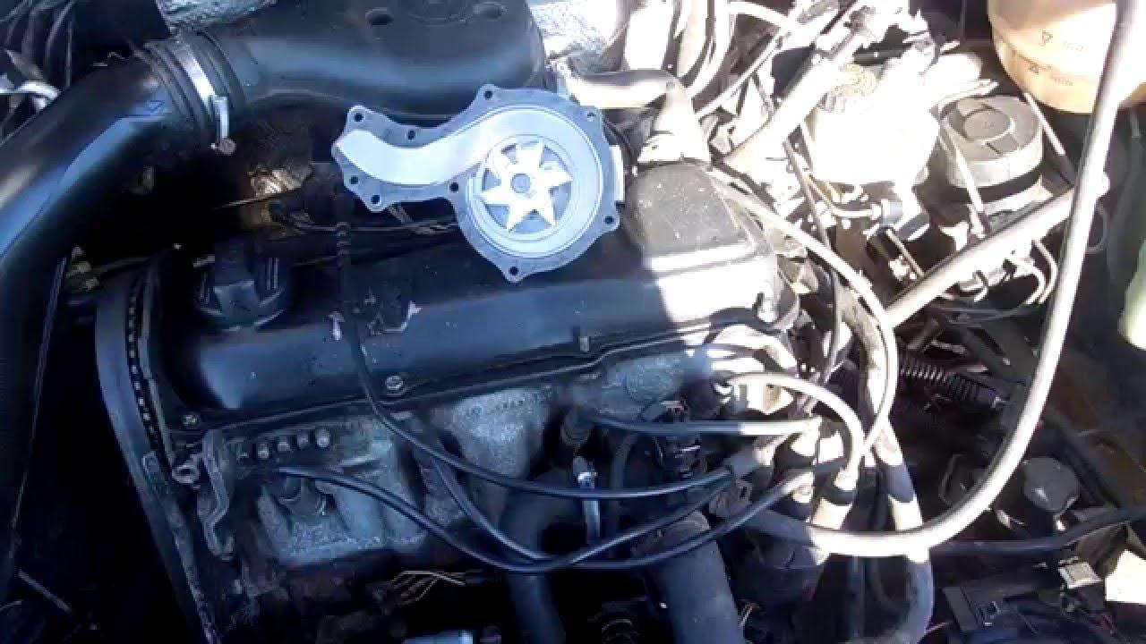 Замена водяной помпы Volkswagen Passat B4 - YouTube