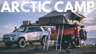 S1:E28 We camped on the Arctic Ocean - Lifestyle Overland