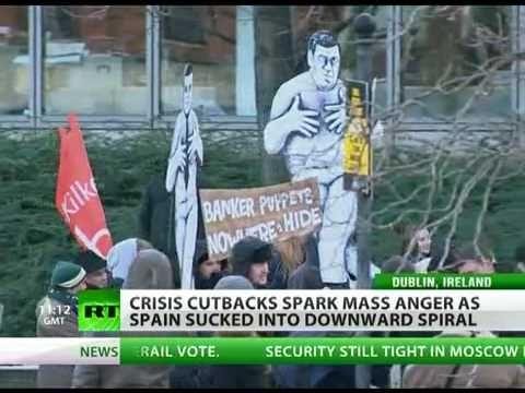 Spain - Next Financial Terrorist Target To Trash Euro For Good