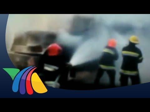 Incendio de pipa deja 2 muertos en Chalco | Noticias del Estado de México