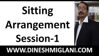Best Tricks and Method for Sitting Arrangement Practice Session 1 by Dinesh Miglani