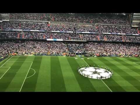 Real Madrid v Bayern Munich - Hala Madrid and UCL Anthem 4/18/17 thumbnail