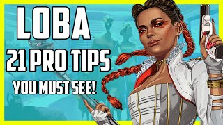 Apex Legends Loba Guide - 21 Must See Tips And Advanced Abilities Explained in Season 5!