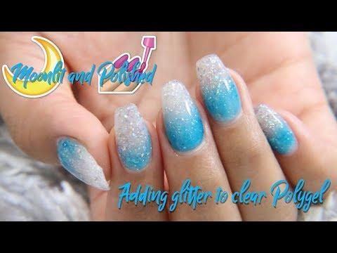 Adding Glitter to Polygel
