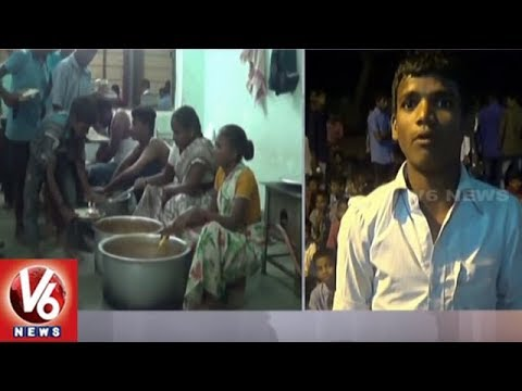 Jogulamba Gadwal Social Welfare BC Boys Hostel Students Protest Over Lack Of Facilities | V6 News