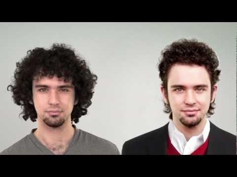 step4hair.com: Strzyżenie męskie: cięcie włosów kręconych nożem chińskim