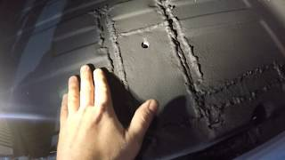 Меняем пороги на новые оцинкованные.Пилим крышу Mercedes Vito w638 V220CDI (часть 3)