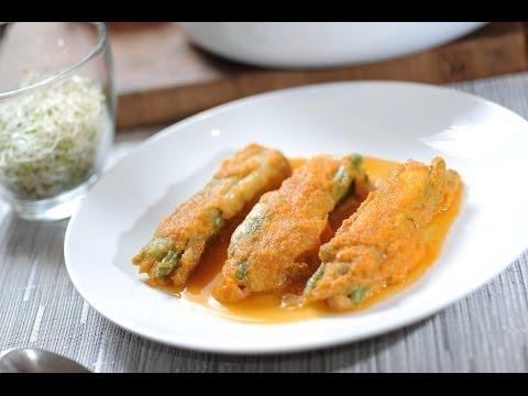 Tortitas de ejote - Recetas de verduras - String bean recipe