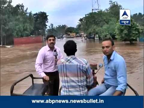 National Highway-73 goes underwater