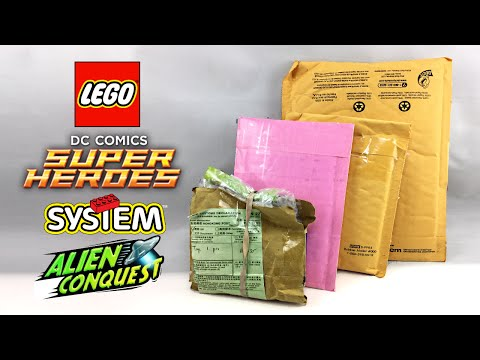 LEGO Mystery Mail Unboxing and Haul!