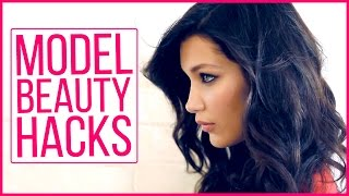 3 model approved beauty hacks with bella hadid