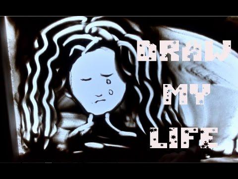 Draw My Life История Моей Жизни Рисую песком