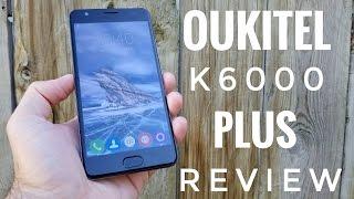 OUKITEL K6000 Plus REVIEW - 6080mAh Battery, 4GB RAM!