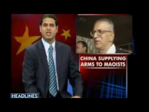 India Says China Supplying Arms To Maoists