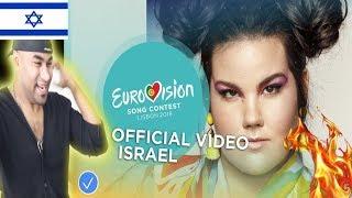 NETTA- TOY - Israel - Official MV - Eurovision 2018   INDIAN REACTION TO ISRAELI MV