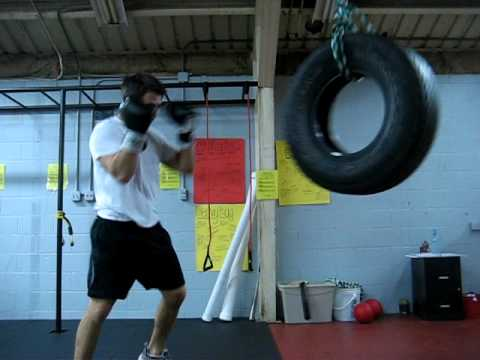 Tire Boxing No Need For Heavybag Youtube
