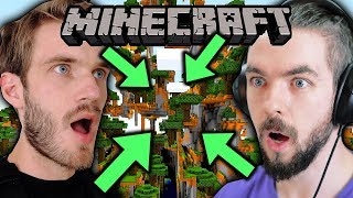 We found the CRAZIEST world in Minecraft! - Minecraft w/ Jack - Part 1