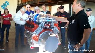 2015 DODGE HELLCAT Engine walkthrough