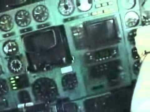 Видео как падают самолеты