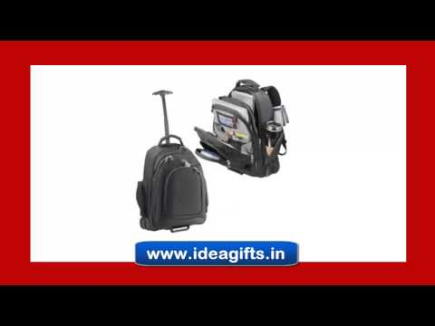Laptop Trolley Backpack Bags   Designer Bags For Corporate Gifting In India.