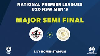 NPL NSW U20's, Major Semi Final, Blacktown City v Rockdale City Suns NPLNSW