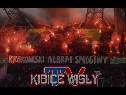 """""""Toksyczne Miasto - Krakowski Alarm Smogowy"""" - Oprawa Wisły Kraków Na Meczu W Warszawie, 18.03.2018"""