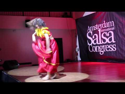 URBAN LATIN TV international salsa Congress Amsterdam. VANESSA LASEDONIA Amsterdam Latin Models.