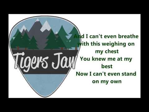 Tigers Jaw - Plane vs Tank vs Submarine - Lyric Video