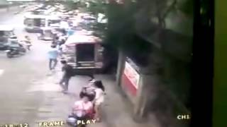 Jeepney accident in Manila