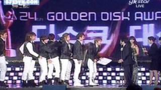 [Vietsub] 091210 Golden Disk Award - Super Junior winning Daesang