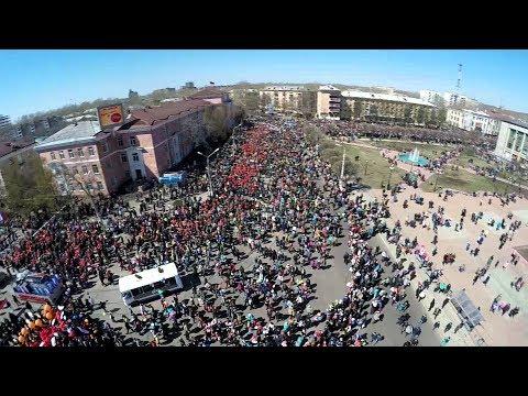комсомольск на амуре видео парада