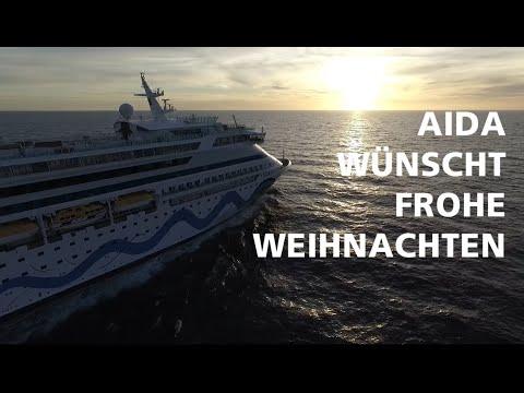 Die AIDA Flotte wünscht Frohe Weihnachten!