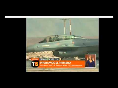 (Autorizan realizar modificaciones a los aviones F16 chile)