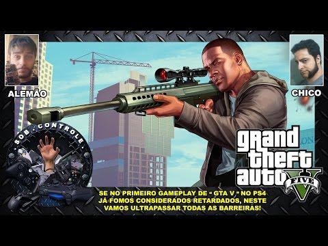 GTA V - Sim, conseguimos ser mais retardados neste segundo Gameplay no PS4