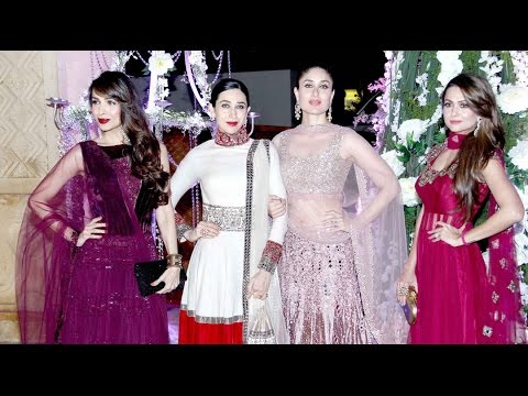 Alia Bhatt, Kareena Kapoor, Kajol, Malaika: At Sangeet Ceremony Of Manish Malhotra's Niece